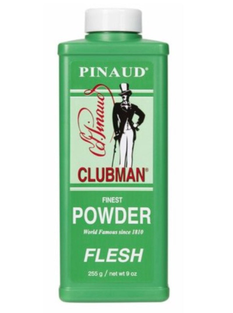 Clubman Talc Powder Flesh 9 oz