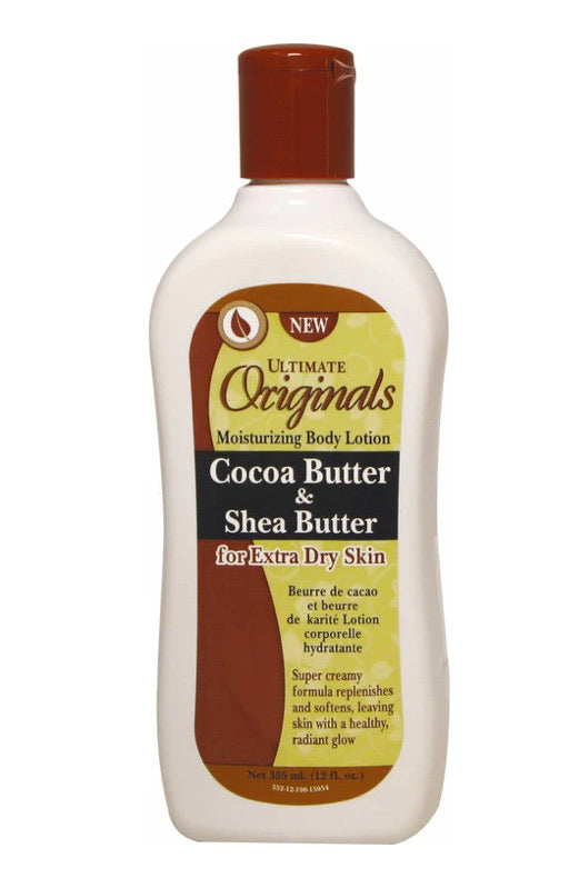 Africanbest Ultimate Organic Cocoa Shea Butter Body Lotion 12 Oz