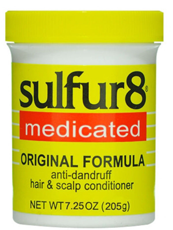 Sulfur 8 Medicated Anti - Dandruff Hair & Scalp Conditioner