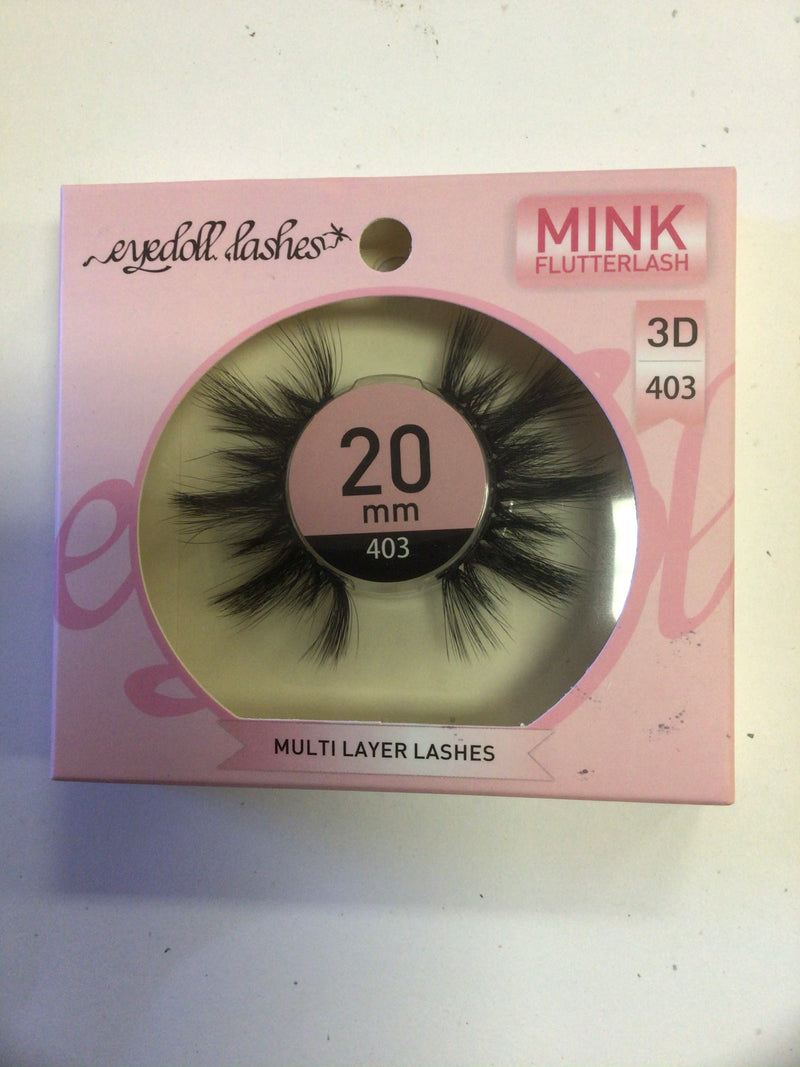 Eyedoll Lashes Mink Flutterlash 3D 403 20mm
