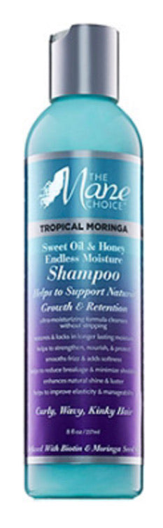 The Mane Choice Tropical Moringa Shampoo 8oz