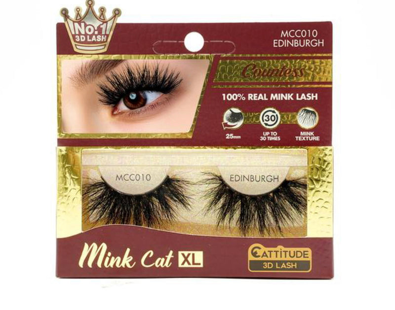 Mink Cat XL Lashes
