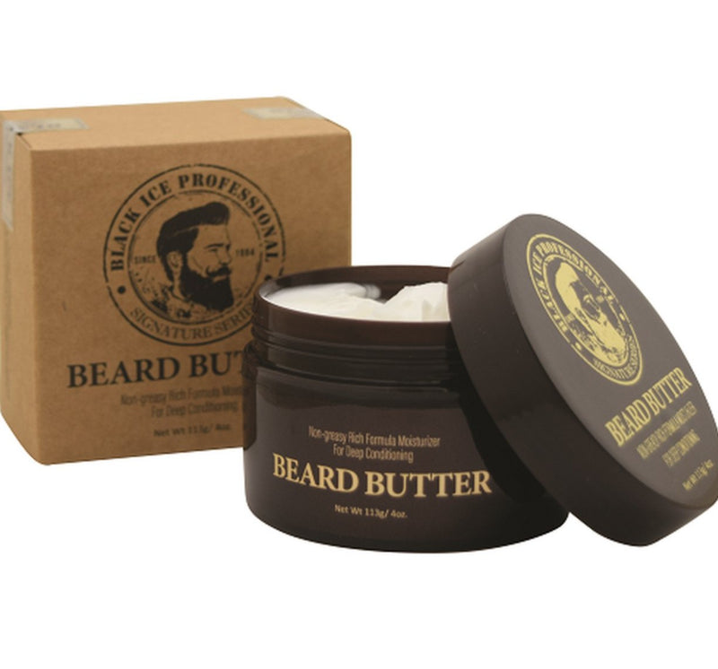 Black Ice Beard Butter. 4 oz