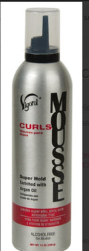 Vigorol Curls Mousse 12 oz.
