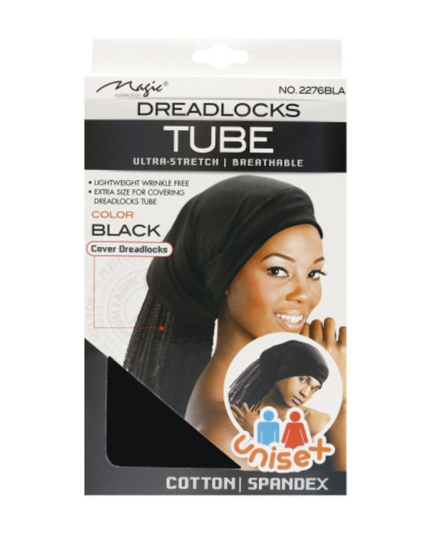 Magic Collection Ultra-Stretch & Breathable Dreadlocks Tube Black