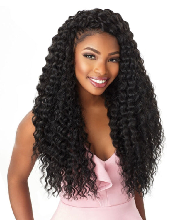 "Lulutress Crochet 18"" Deep Twist"