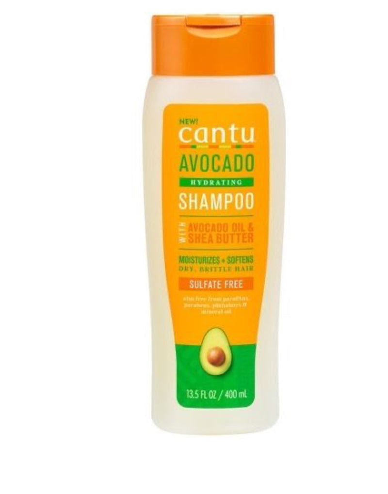 Cantu Avocado Hydrating Shampoo W/ Avocado Oil & Shea Butter 13.5 fl. oz.