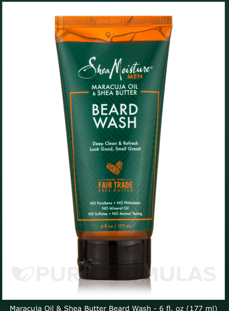 Shea Moisture Beard Wash 6 oz.