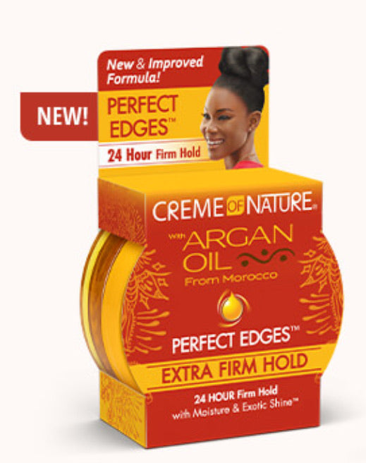 Creme of Nature Argan Oil Perfect Edges Extra Firm Hold