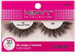Kiss I Envy 3D Collection 06 Lashes Glam 3D