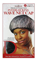 Donna Interlocking Wave Net Cap
