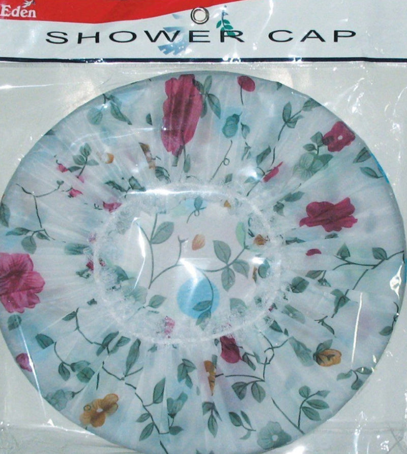 Flower Shower Cap 2pc