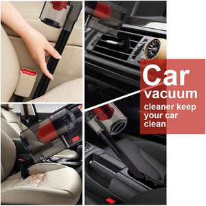 Powerful Car Vacuum Cleaner - Mini 5.0 Portable 7000Pa - Cart Loud