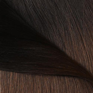 #1B/4 Ombre Color Halo Hair Extensions