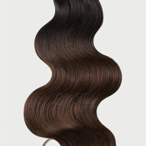 #1B/4 Ombre Color Fusion Hair Extensions