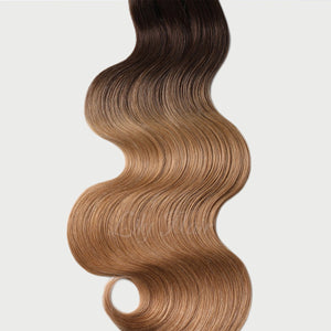 #2/12 Ombre Ombre Color Halo Hair Extensions