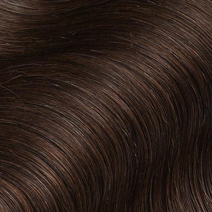 #2 Dark Chocolate Color Micro Ring Hair Extensions
