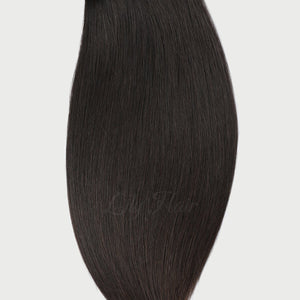 Unprocessed Natural Color Fusion Hair Extensions