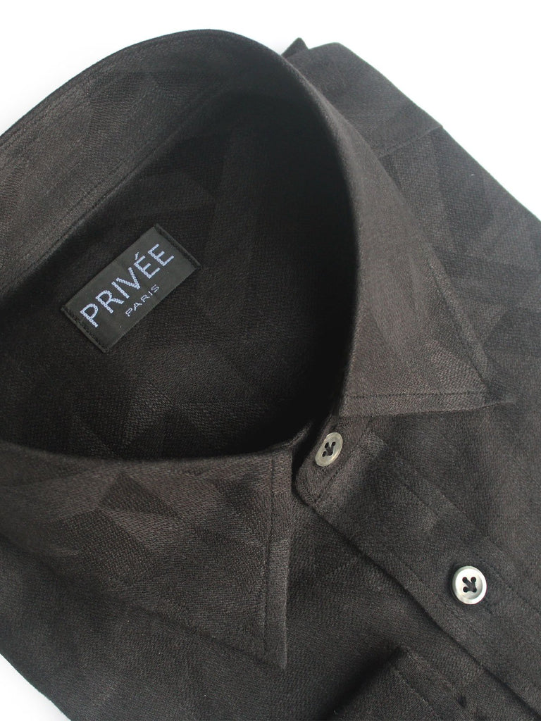 Black Irish Linen Shirts India