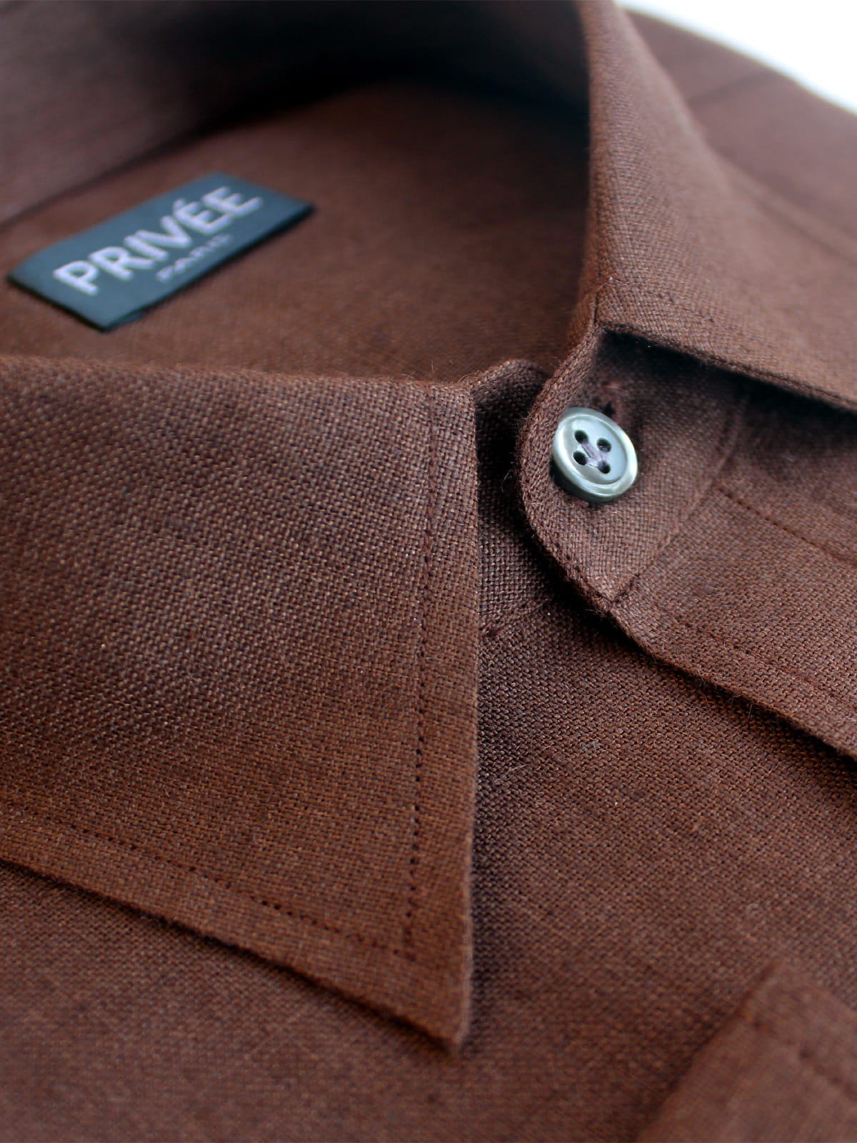Brown Linen Shirts