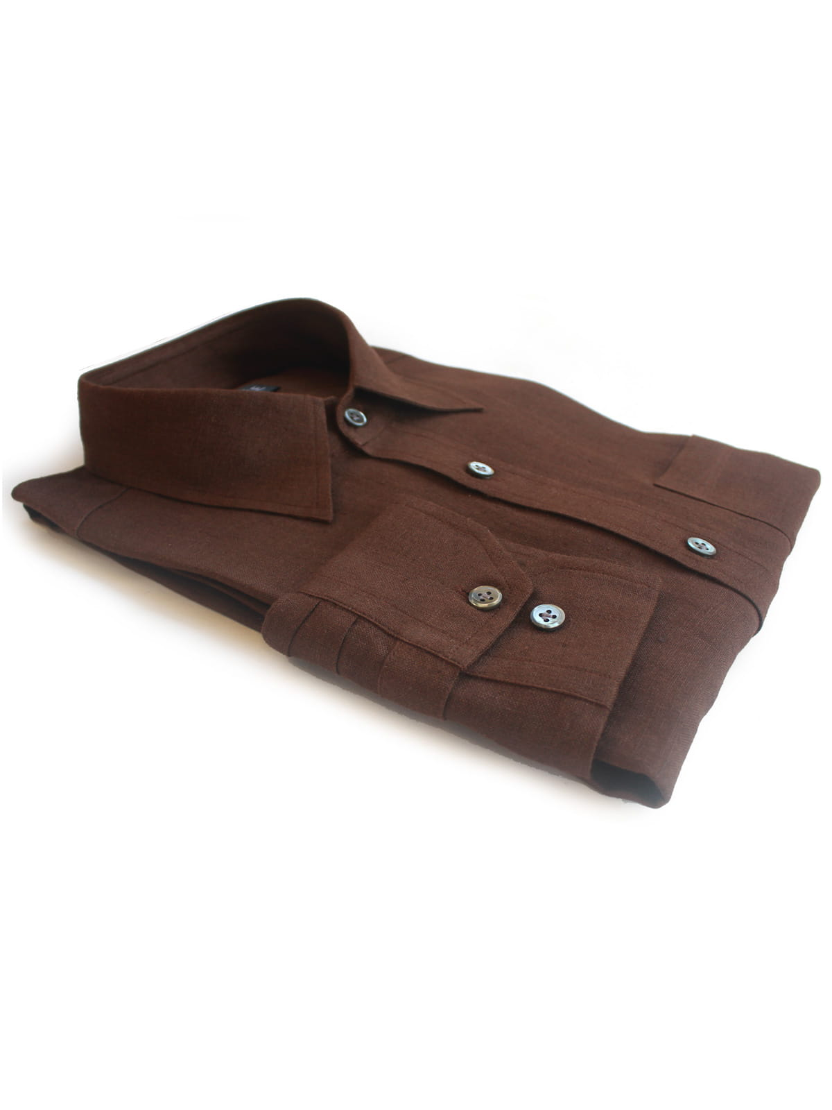 Brown Linen Shirts India