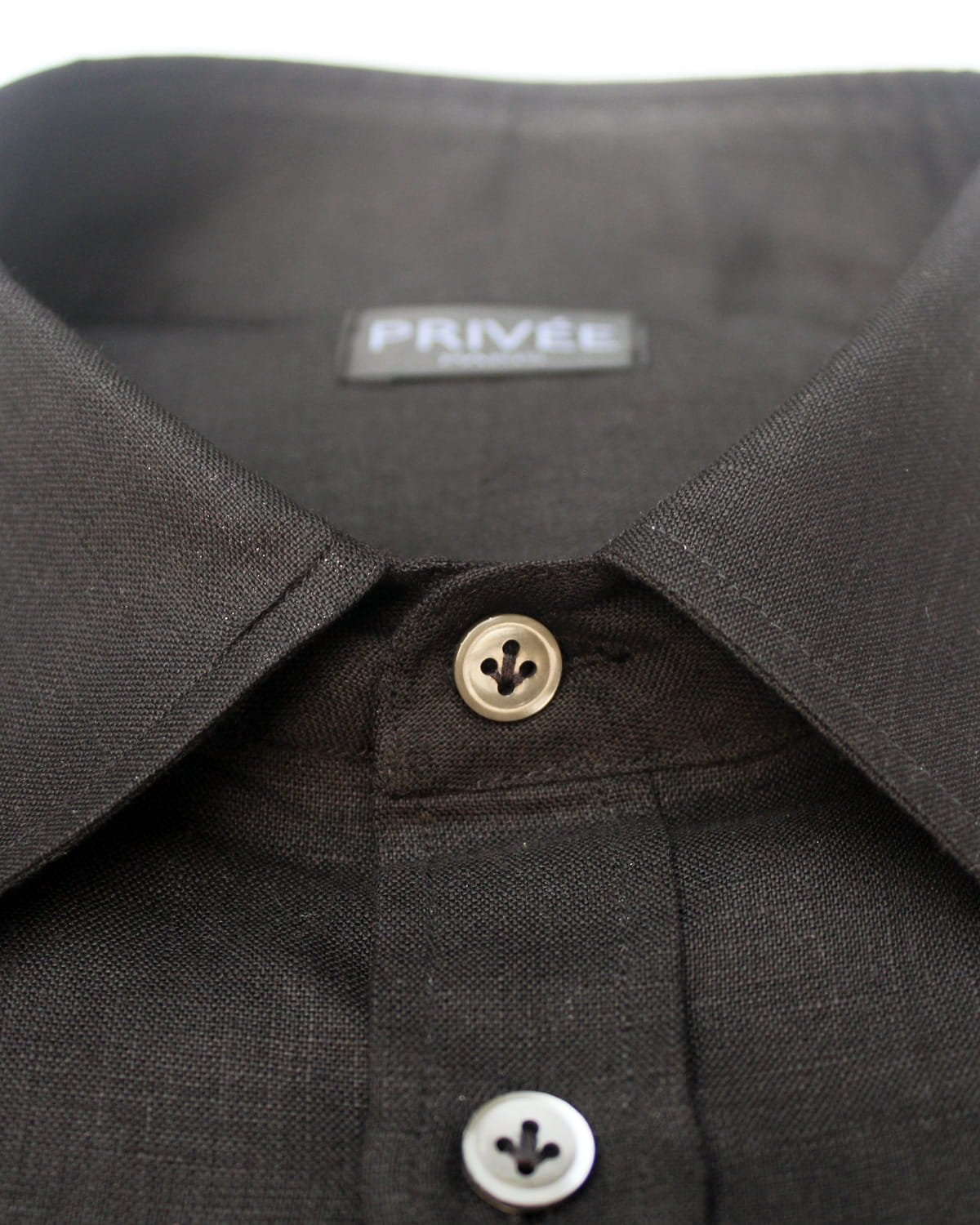 Buy Black Linen Shirt