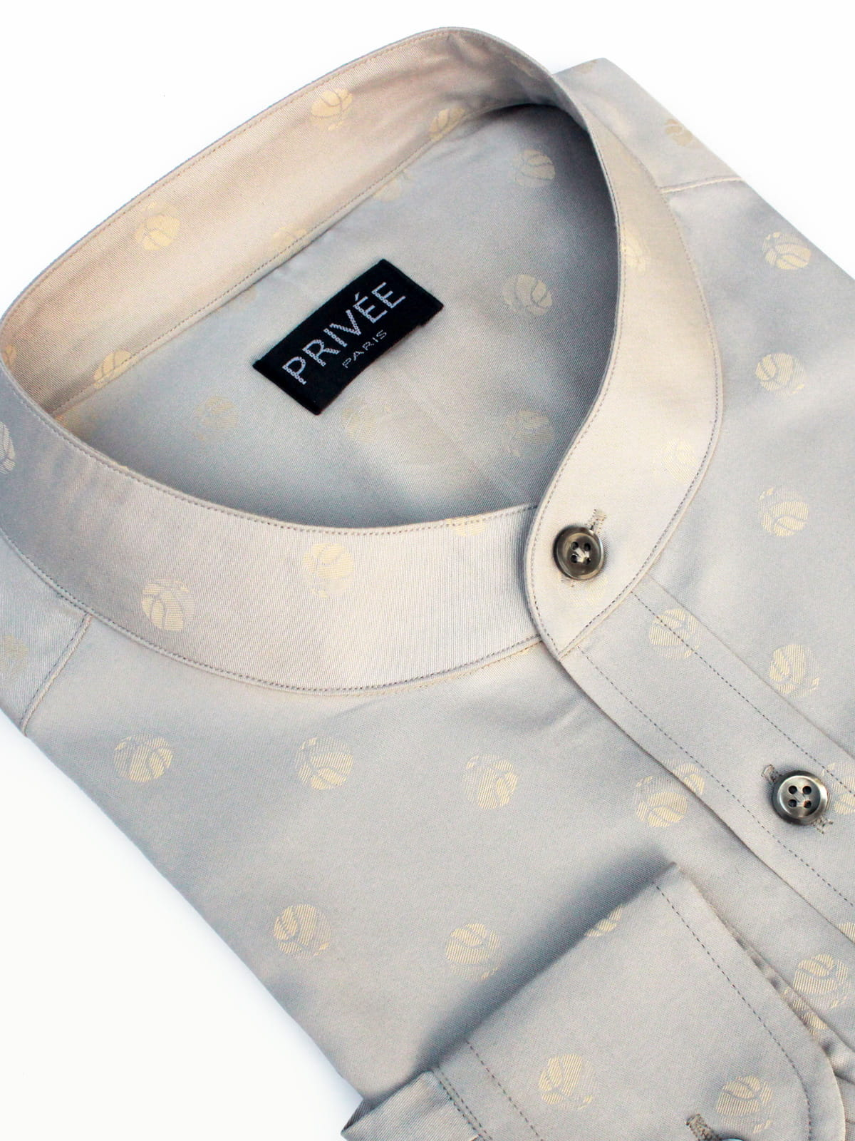 Luxury Shirts India (Champagne Grey)