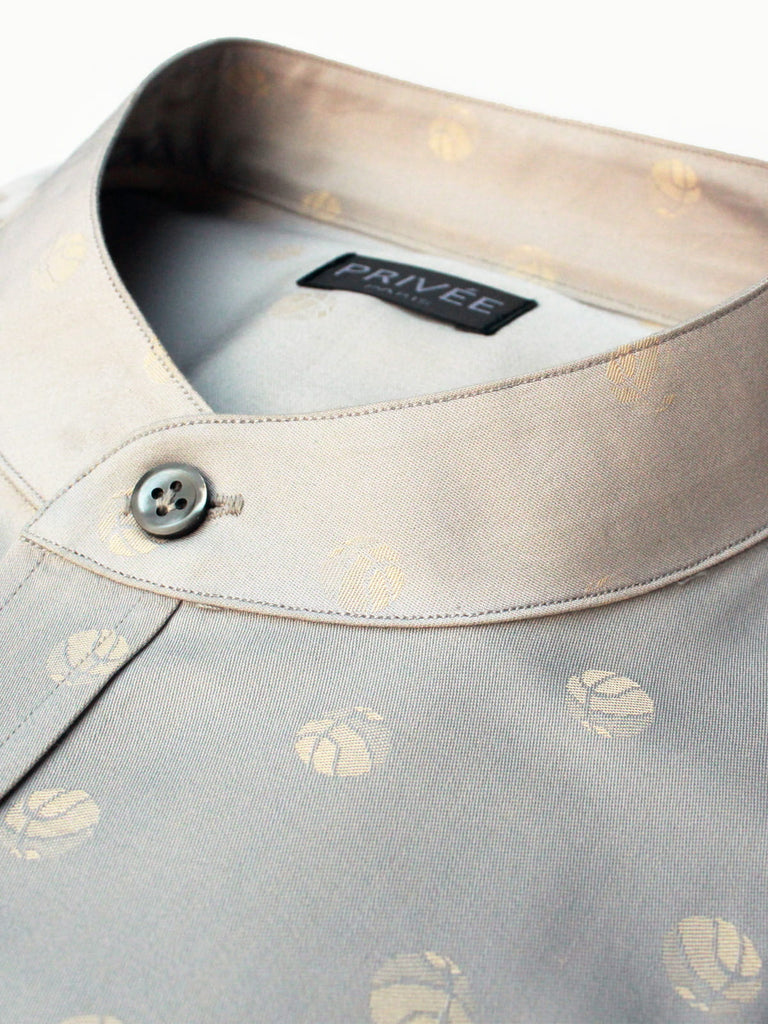 Champagne Grey Luxury Shirt