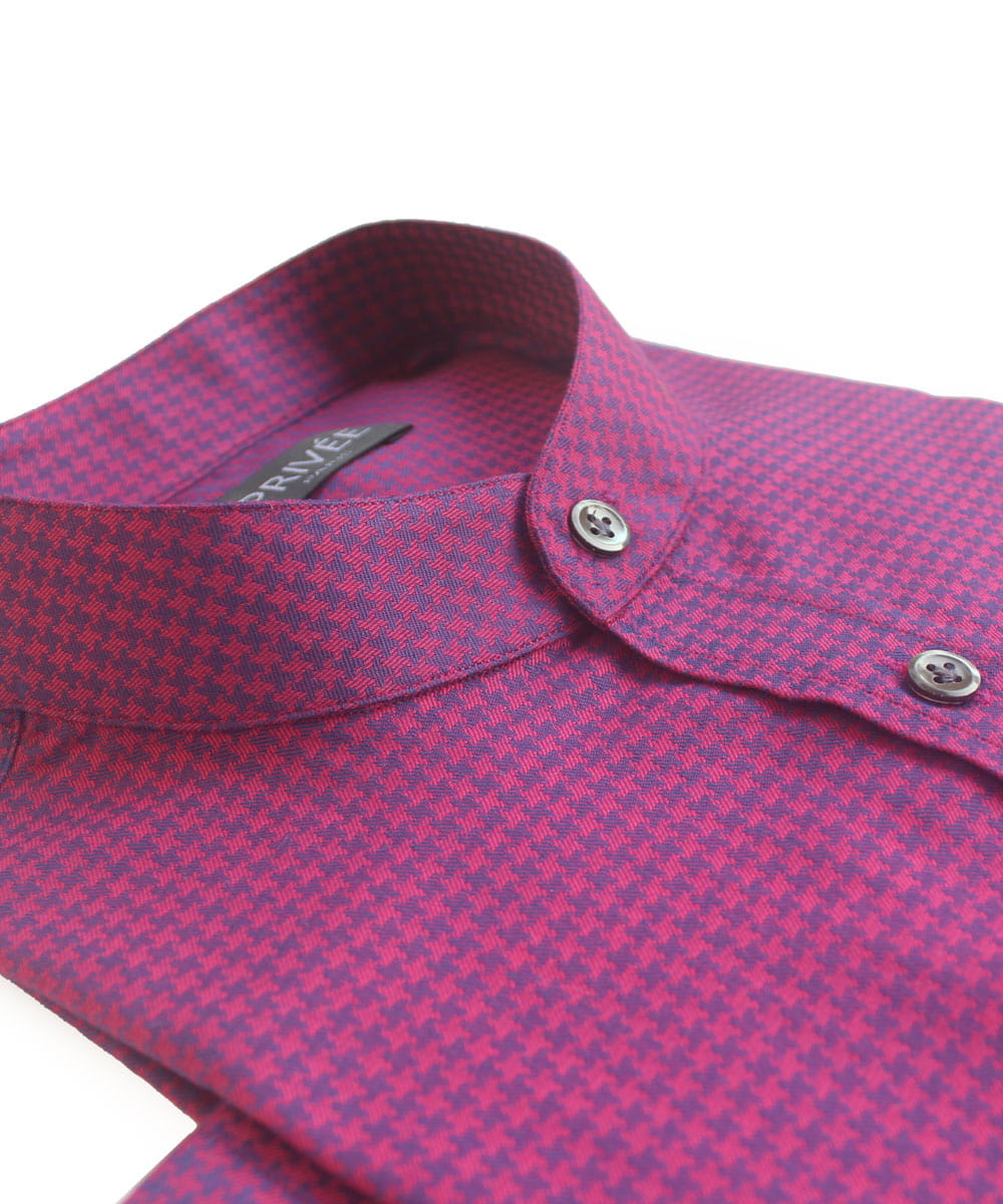 Fuchsia Wedding Party Wear Shirts