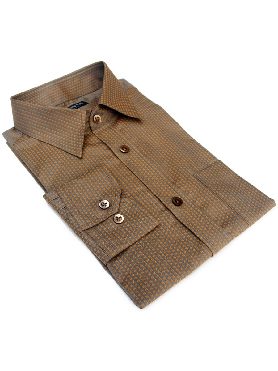 Golden Olive Designer Shirt