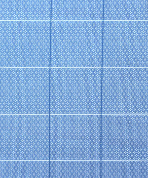 Light Blue Formal Shirt (Square Pattern)
