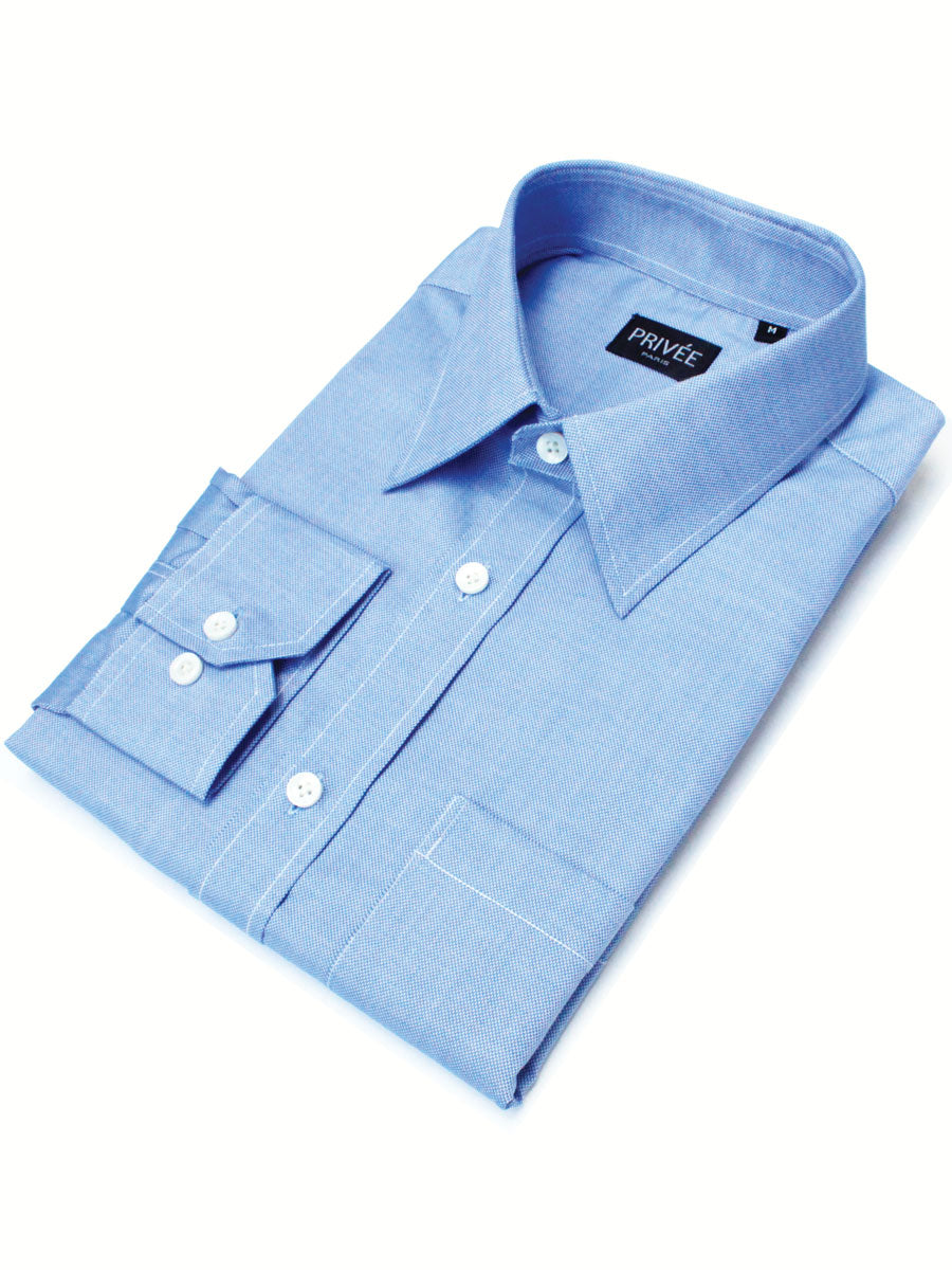 Royal Blue Oxford Shirt in India