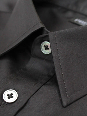 Privee Paris Premium Black Cotton Shirt
