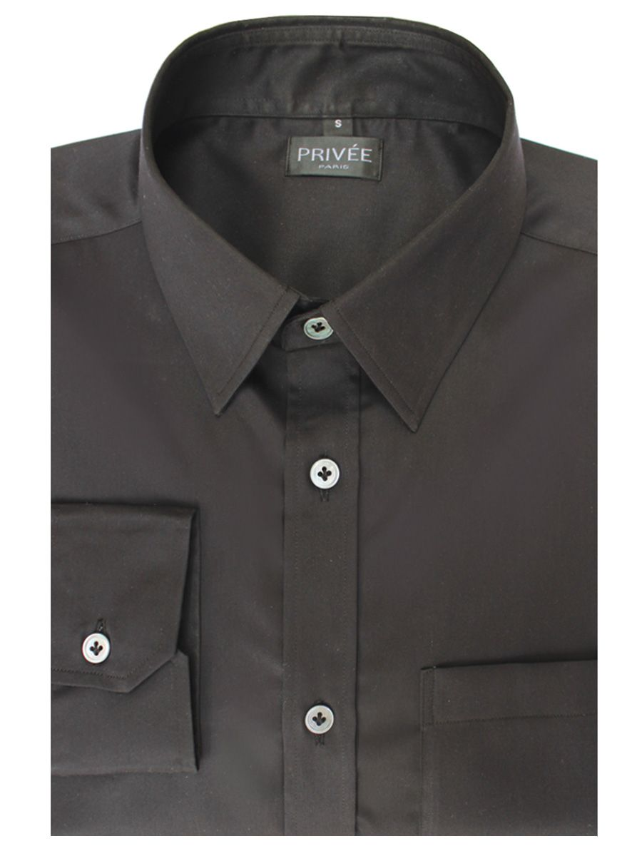Premium Black Cotton Shirt India