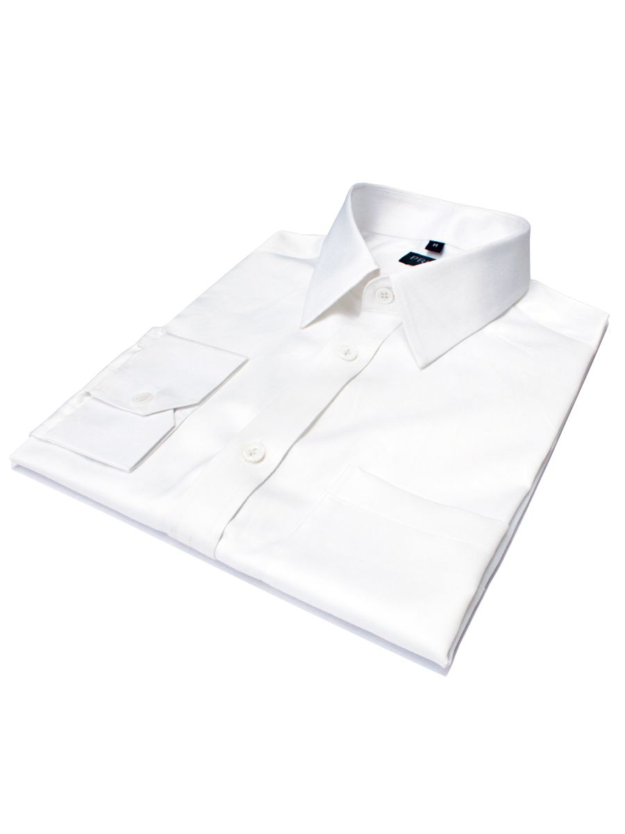 Privee Paris White 120 superfine 2Ply Shirts
