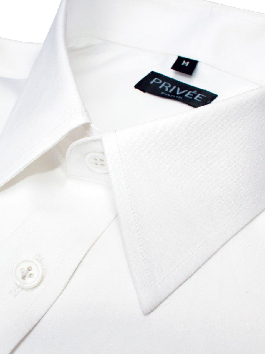White 2Ply Business Shirts Online India