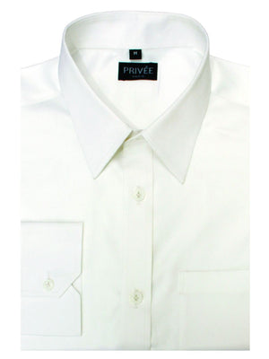 Business Shirts White 120 superfine 2Ply Shirts
