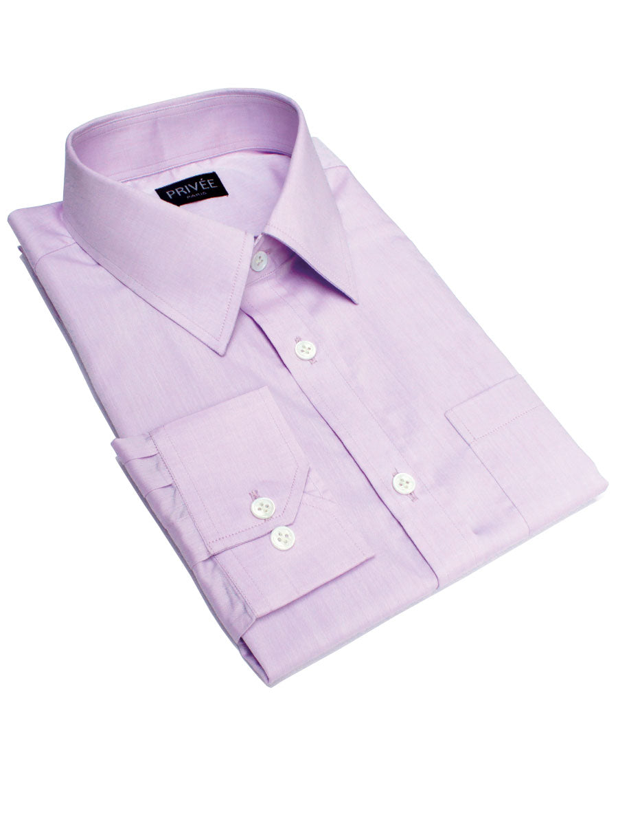 Light Violet Formal Shirt