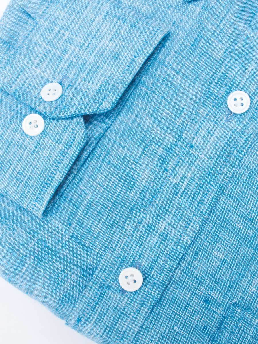 Blue Linen Shirts for Men in India