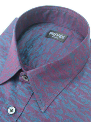 Magical Night-Jacquard Luxury Shirt (Exclusive) - Privee Paris
