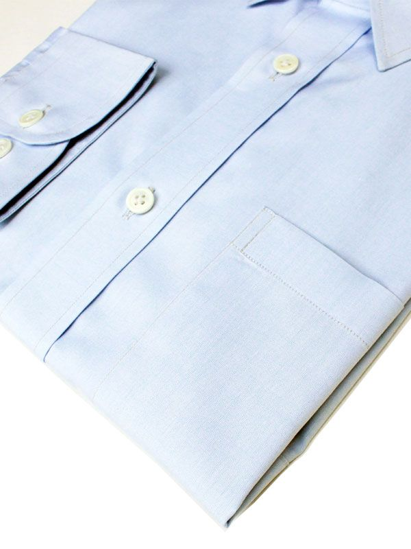 Light Blue 2Ply Cotton Shirt Online