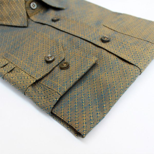 Ceremonial Collection - Earthy Jacquard (Luxury Shirt) Privee Paris