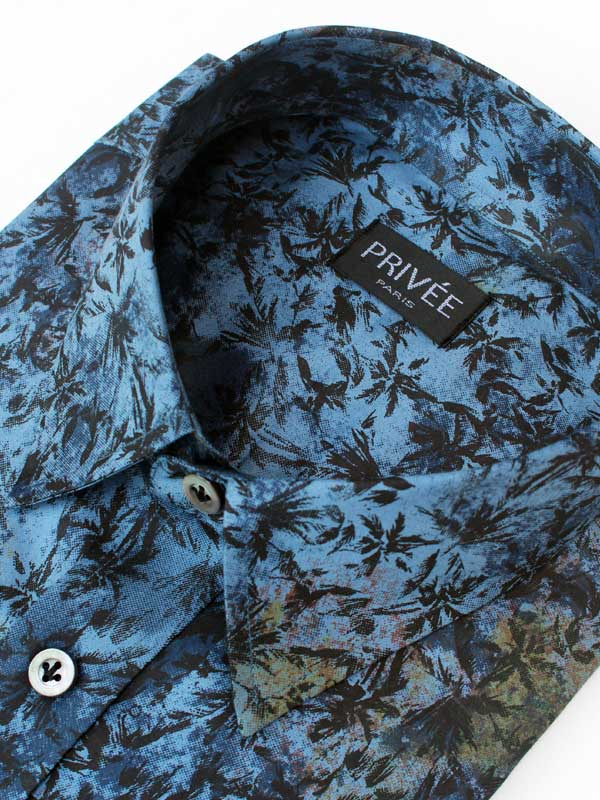 Tropical Printed Luxury Shirt