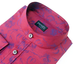Novelty Collection - Royal Red Wedding Shirts India