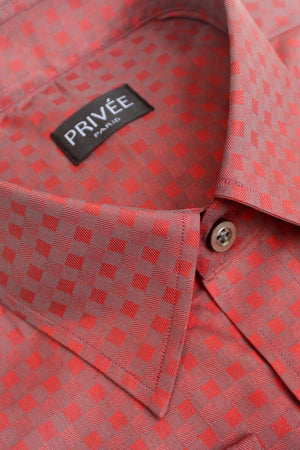 New Pattern Shirt Red Checkered