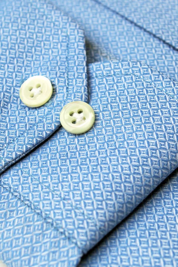 Blue Diamond Pattern Luxury Shirt