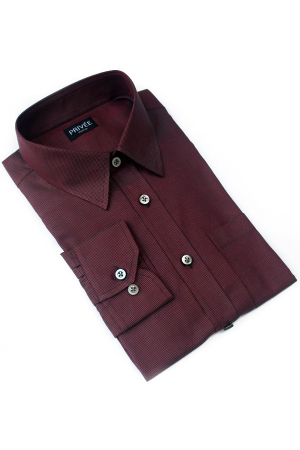 Chocolate Brown Classic Shirt