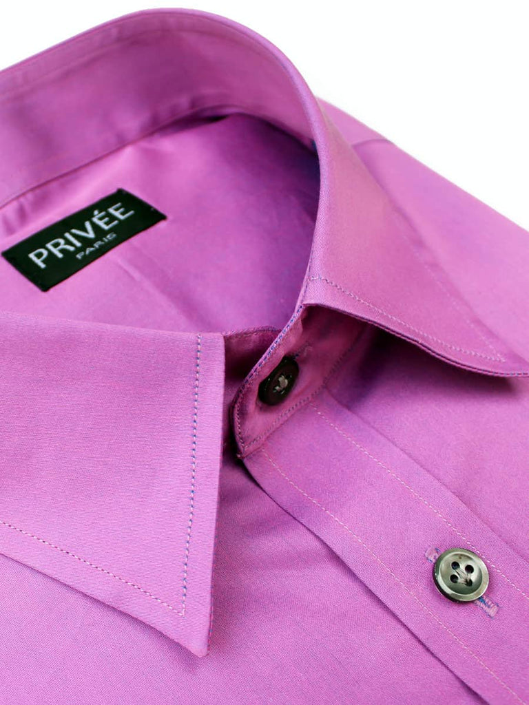 Fuchsia Shirt (for South Indian Wedding) - Privee Paris