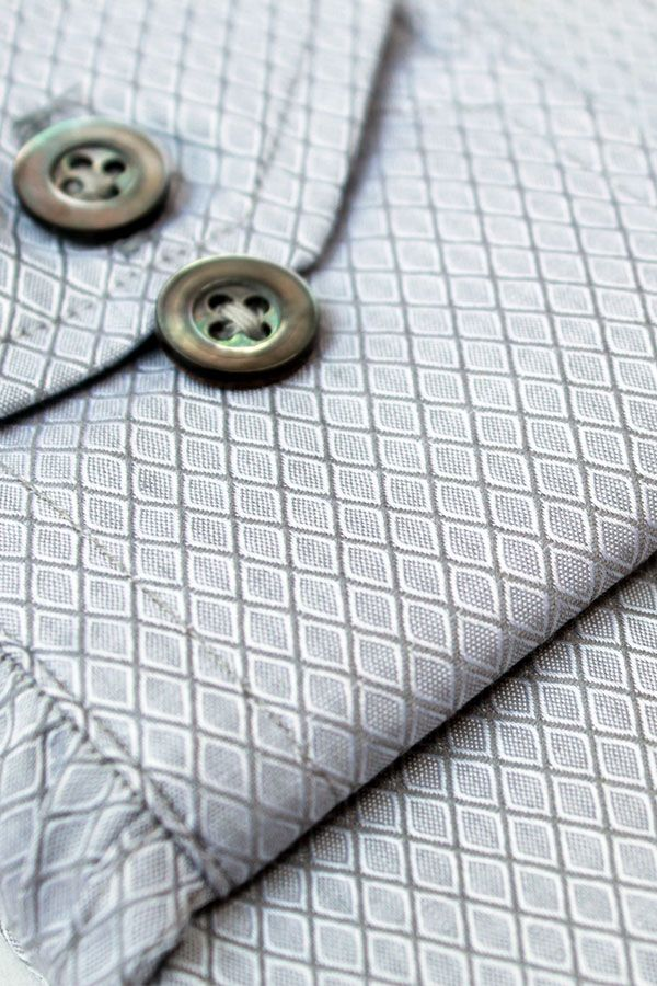 Silver Shade Metallic (New Pattern Shirt)