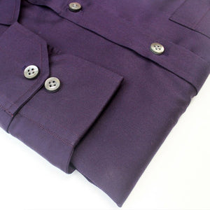 Purple Plum Party Wear Shirts